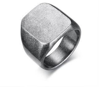 Men's silver color ring