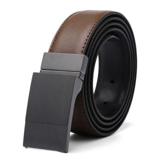 Men's Dark Brown leather belt