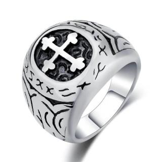 Men's steel ring