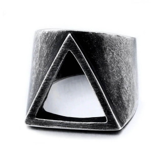Men's stainless steel ring