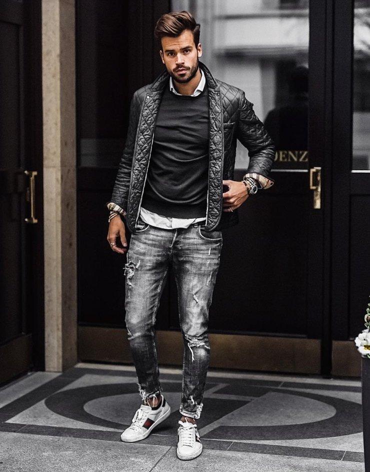 7f5db251ccc Men s Street Style Inspiration  Jacket
